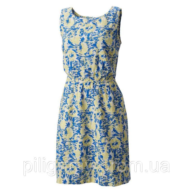 Женское платье Columbia HARBORSIDE™ LINEN DRESS желто-синее FL0026 ... 66480c40bc4b3