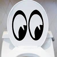 Виниловая наклейка- большие глаза