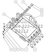 Ковш для экскаватора Jonyang JYL230E