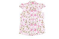 Блуза детская «Бабочки» короткий рукав., фото 1