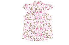 Блуза детская «Бабочки» короткий рукав.