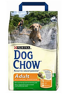 Dog Chow (Дог Чоу) Сухой корм для взрослых собак с курицей 14 кг