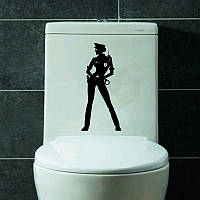 Виниловая наклейка- полиция