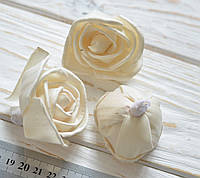 Сухоцвет цветок розы 3шт (сухоцвет SHOLA), фото 1
