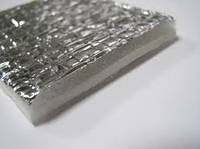 Отражающая изоляция Теплоизол 4 мм  самоклейка (полотно ППЕ, ламинированное металлизированной пленкой)