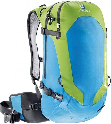 Практичный рюкзак 16 л. для фрирайдеров DEUTER PROVOKE 16, 33173 3223 голубой