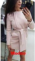 Женское  пальто из легкого кашемира  (4 цвета)