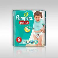 """Подгузники - трусики для детей """"Pampers baby-dry pants 6"""" 16+ кг.(19 шт.)"""