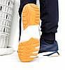 Кроссовки мужские синие Asics Gel Lute V 43р-28 см реплика, фото 4