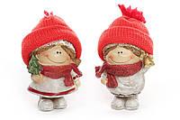 Декоративная фигурка Детки 8см, 2 вида, цвет - красный
