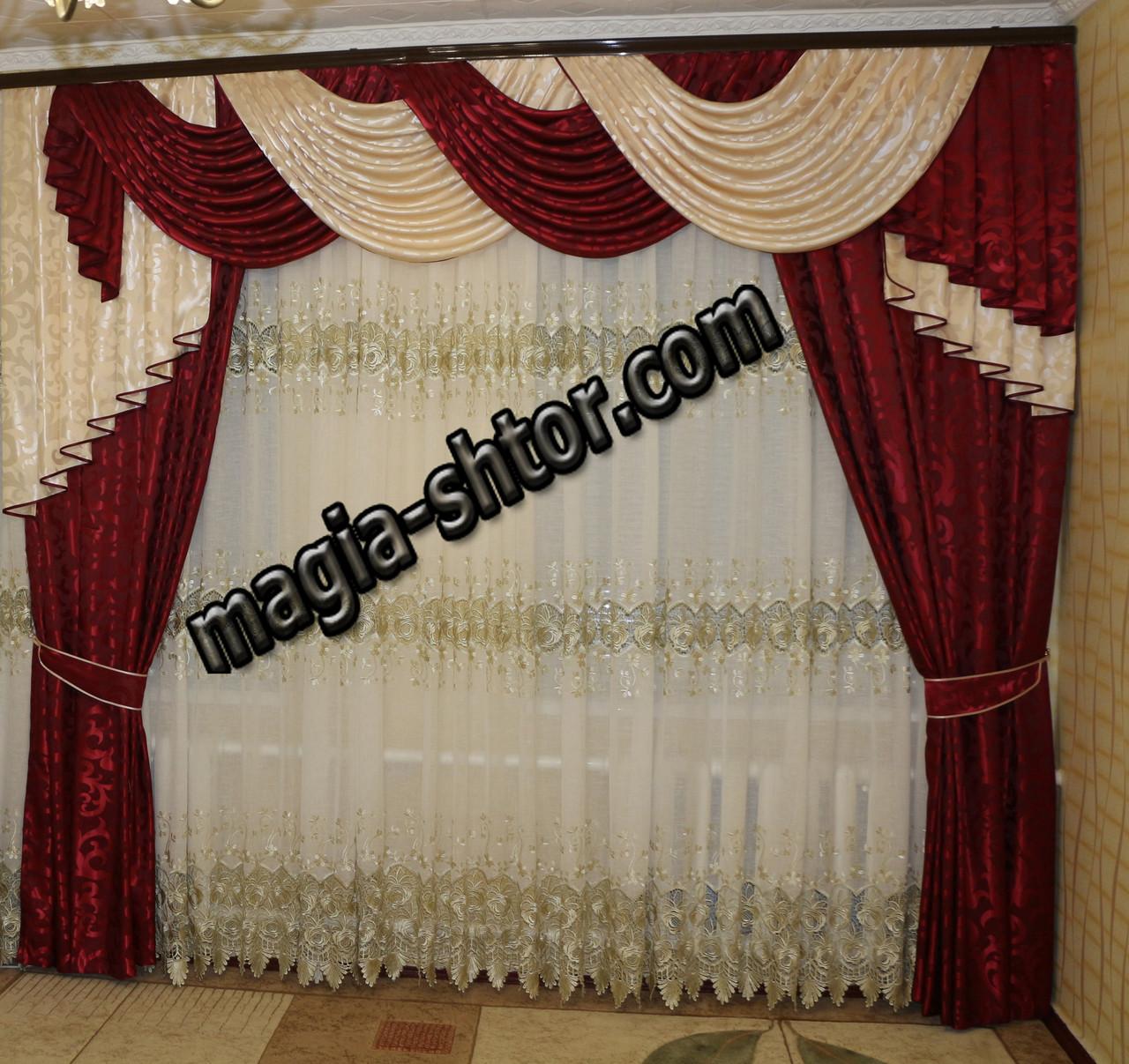 шторы и ламбрекены фото