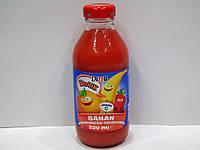 Соковый напиток Dizzy Frutik (банан, апельсин, клубника), 330 мл