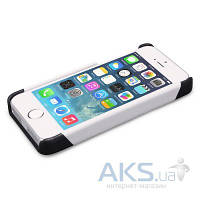 Чехол iCarer Colorblock for iPhone 5/5S Black/White
