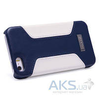 Чехол iCarer Colorblock for iPhone 5/5S Blue/White