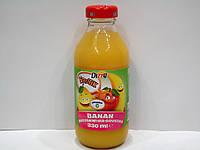 Соковый напиток Dizzy Frutik (банан, персик, груша), 330 мл