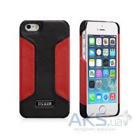 Чехол iCarer Colorblock Apple iPhone 5, iPhone 5S, iPhone SE Black/Red