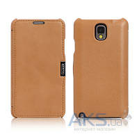 Чехол iCarer Side Open Luxury for Samsung N9000 Galaxy Note 3 Brown