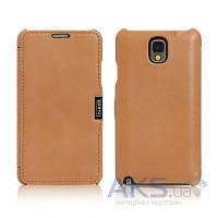 Чехол iCarer Side Open Luxury Samsung N9000 Galaxy Note 3 Brown