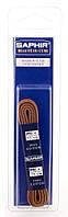 Шнурки для обуви Saphir арт.246, 90 см, тонкие круглые вощеные, цв. светло-коричневый (03), фото 1