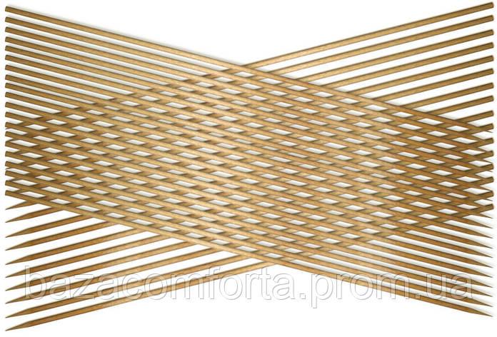 Набор шампуров 25 см, бамбук, фото 2