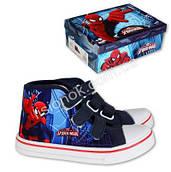 Высокие кеды Человек Паук SpiderMan, Marvel 33, Синий