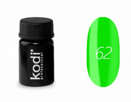Гель-краска Kodi №62, 4 ml