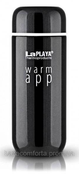Термокружка 0,2 л, Warm App, черная