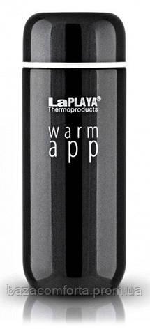 Термокружка 0,2 л, Warm App, черная, фото 2