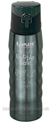 Термос 0,5 л, BubbleSafe, серый, фото 2