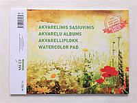 Альбом для акварели А4 SMILTAINIS GOLD, 200кв.м, 10лист