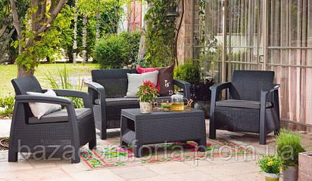 Комплект садовой мебели Bahamas, серый , фото 2