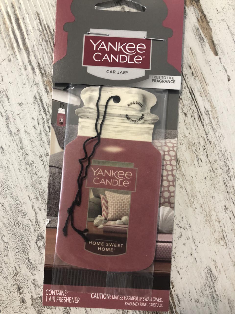 Ароматизатор авто Yankee Candle Дом, сладкий дом