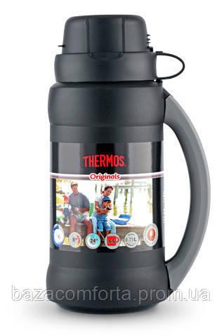 Термос 0,75 л, 34-075 Premier, черный