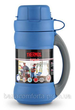 Термос 0,75 л, 34-075 Premier, синий