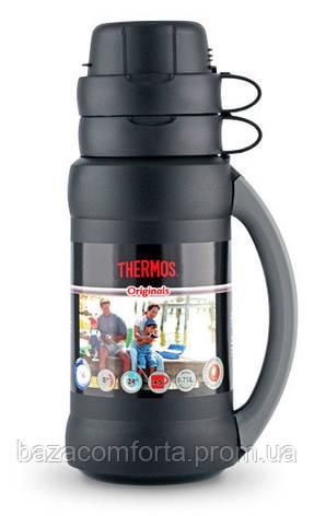 Термос 1,8 л, 34-180 Premier, черный, фото 2