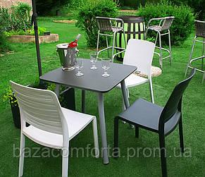Стул пластиковый Charlotte Deco Chair, серый, фото 3