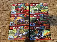 Конструктор Ниндзяго (1 герой, 75 деталей), 6 видов