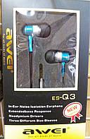 Наушники Awei Q3 (Blue)
