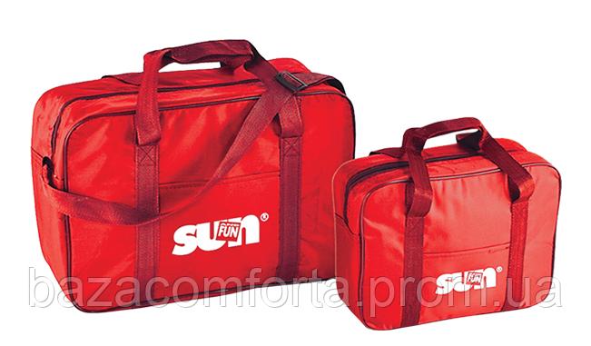 Изотермическая сумка Sun&Fun 2 in 1 Cool Set, красная, фото 2
