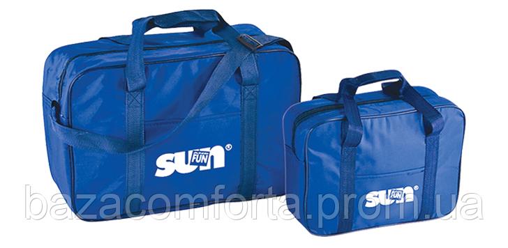 Изотермическая сумка Sun&Fun 2 in 1 Cool Set, синяя, фото 2