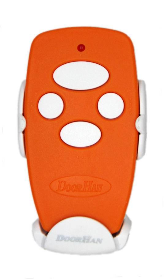 Пульт от ворот Doorhan transmitter 4 - оранжевый
