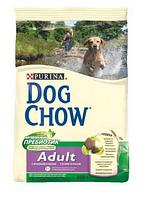 Dog Chow (Дог Чоу) Сухой корм для взрослых собак с ягненком  14 кг