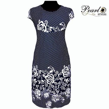Платье купонное в горошек, фото 2