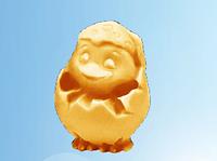 Пасхальная шоколадная фигурка, Пасхальный цыпленок