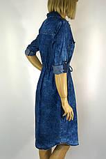 Платье джинсовое большого размера Sinsere, фото 3
