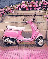"Картина по номерам ""В розовом стиле"" 40*50см"