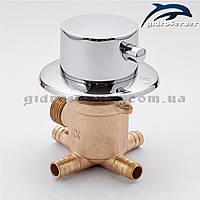 Перемикач для змішувача душової кабінки, гідромасажного боксу PS-04 на 4 положення., фото 1