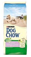 Dog Chow Дог Чоу Сухой корм для щенков с курицей 14 кг Акция!