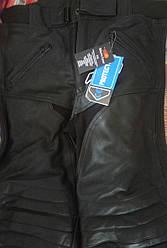 Мотоциклетні шкіряні штани Bikers Gear ріст 175см. 50 розмір.