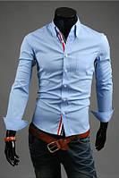 Стильная молодежная рубашка мужская